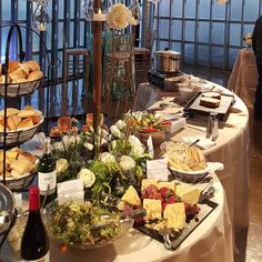 A delicious spread #winepairings #cateringworks