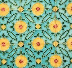 Japanese tiles often come in a beautiful and balanced mix of pastel colours. Tile Design, Pattern Design, Azulejos Art Nouveau, Victorian Tiles, Batik Pattern, Tile Art, Tile Patterns, Design Inspiration, Wallpaper