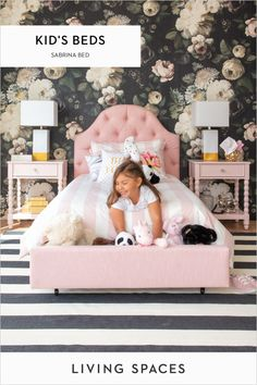 Design your child's dream space - kids bedroom styles they are sure to love. Beds, dressers, desks, accessories & more in a wide range of designs to suit any teen's unique style. Teen Girl Bedrooms, Little Girl Rooms, White Bedrooms, Kid Spaces, Space Kids, Princess Room, Minimalist Bedroom, Minimalist Kitchen, Minimalist Interior