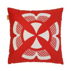 Malagoon: Ishara Cushion Red, at 16% off!