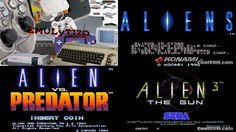 Aliens + Alien vs Predatos + Aliens 3 - M.A.M.E. - Emulytizo