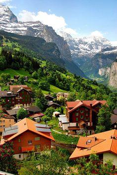 Mountain Village--Wengen, Switzerland