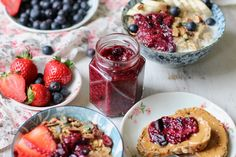 Forget that you ever heard about jam being unhealthy.I never thought making homemade jam could be so easy... and good for you! I always thought I'd have to add
