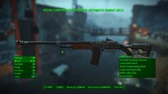Combat and Assault Rifle ammo change - Fallout 4 / FO4 mods