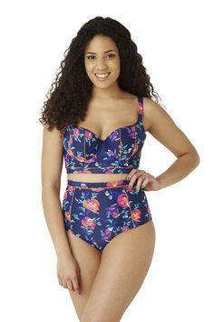 Panache Lingerie | Cassie - Longline Padded Balconnet Bikini