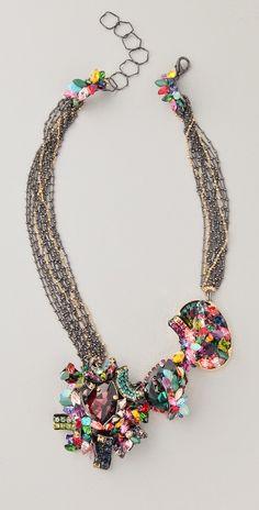 the confetti necklace - Confetti Necklace, by Erickson Beamon