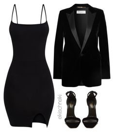 """Unbenannt #1281"" by elkischnelki ❤ liked on Polyvore featuring Yves Saint Laurent"