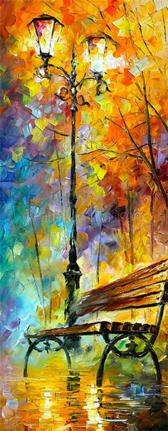 Aura of Autumn - Beautiful Art by Leonid Afremov