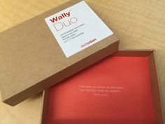 Packaging for a minimalist wallet from Distil Union, with a nice quote inside. - Imgur