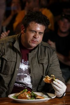 adam richman of man vs food goes mostly plant based to protect his health - Man V Food Kitchen Sink