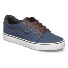 b1b87c4df4120 Anvil Tx Chaussure Skate Shoes Bleu - 39 - pas cher Achat   Vente Baskets  homme - RueDuCommerce