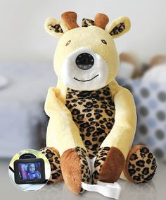 Look at this infanttech Giraffe Always-In-View Video Baby Monitor on #zulily today!