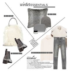 """Winter Essentials"" by barngirl ❤ liked on Polyvore featuring STELLA McCARTNEY, Burberry, Acne Studios, Anya Hindmarch, The Row, Zara and Bobbi Brown Cosmetics"