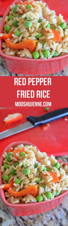 Red Pepper Fried Ric