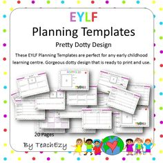 Pdf Eylf Programming Templates  Template Early Childhood And