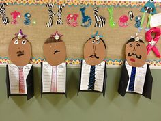 great idea for our biography unit!