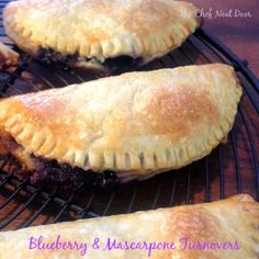 The Chef Next Door: Blueberry & Mascarpone Turnovers