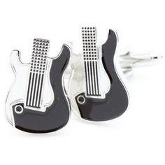 BOUTONS-DE-MANCHETTES-Guitare-Electrique