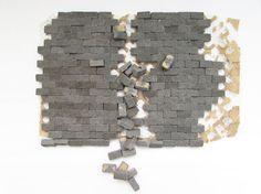Reserved For Teri - Vintage Miniature Dollhouse Bricks, Miniature Bricks…
