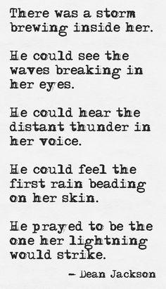 Gathering Storm (typewriter version) ~ Dean Jackson