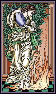 Robert M Place ~ The Tarot of the Sevenfold Mystery: Temperance