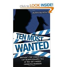 Ten Most Wanted by Bleksley Peter Hardback Book The Cheap Fast Free Post
