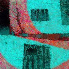 The Old Cells Studio - Michèle Brown Art: Perceptual Prison - iPad painting