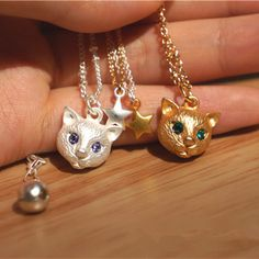 New Korean Summer Style Women's Jewelry Cute Little Cat Pendant Star Necklaces