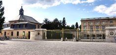 149 Le Petit Trianon, Chapel, entrance gates, cour d'honeur, facade