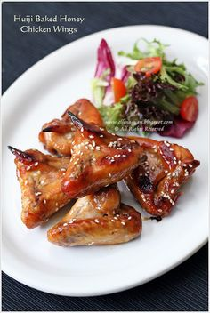 Huiji Baked Honey Chicken Wings