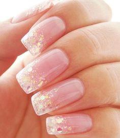 Sparkle manicure