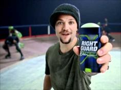 Bam Margera Roller Derby Right Guard Commercial