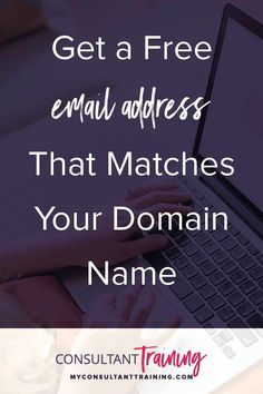 How to get your own web address for your direct sales business. Tips how to buy a domain name for your network marketing website. Tools and training for online business owners and direct sales professionals. #directsales #onlinebusiness #businesstips