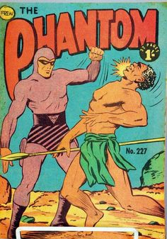 The Phantom - created by Lee Falk in 1936