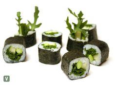 Vegetarian Sushi Rolls, Sushi Platter, Edamame, Mayonnaise, Cucumber, Menu, Delivery, Ethnic Recipes, Food
