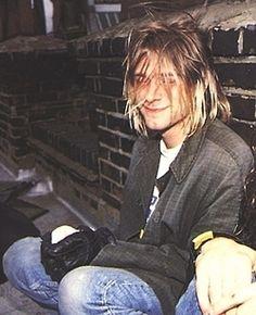 funny cute hot kurt cobain nirvana hipster vintage indie Grunge boy guy dark vintage