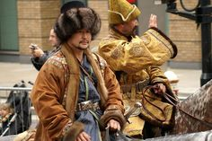 Warrior Movie, Handsome Asian Men, Ethnic Dress, People Of The World, Central Asia, Mongolia, Traditional Outfits, Costumes, Costume Ideas