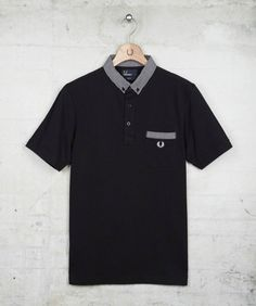 Fred Perry Gingham Trim Shirt