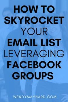 How to rapidly grow your email list by leveraging Facebook groups. Here are the exact strategies that I used to skyrocket my website traffic and quickly build my subscriber list leveraging Facebook groups. Pin this to your board!