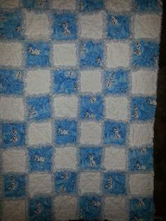 Ohttps://www.facebook.com/RagAMuffinThrows OLAF Disney's Frozen Rag Quilt Diane Darvis