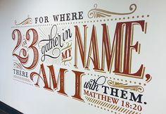 Mural for the church I attend.