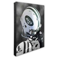 NFL New York Jets Beautiful Gallery Quality High Resolution Canvas 16 x 20 -- See this great product.