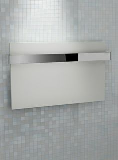 Kudox Designer Towel Rail Ikon x White & Chrome Towel Rail, Ikon, Chrome, Design, Towel Racks, Icons