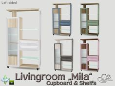 Part of the *Livingroom Mila* Found in TSR Category 'Sims 4 End Tables'