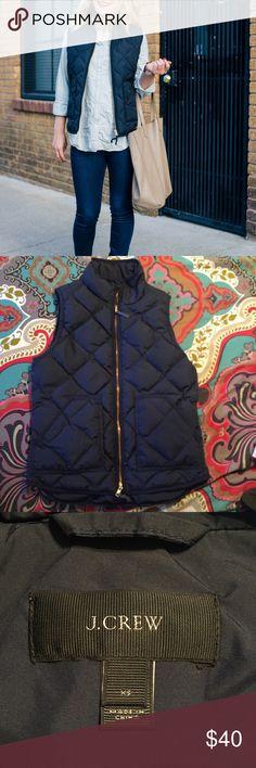 ⚡️SALE⚡️J. Crew Down Quilted Vest . J. Crew Jackets & Coats Vests