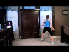 30 minute kickboxing workout by Adrienne White - GREAT for those snow days when I'm sick of Jillian Michaels!