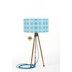 Lampa stołowa Retro Tripod Geometric - JABBA Design Tripod Lamp, Retro, Design, Home Decor, Decoration Home, Room Decor, Retro Illustration, Home Interior Design