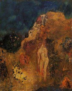 Bathers - Odilon Redon