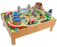 imaginarium train table track layout - Google Search | Just in case ...