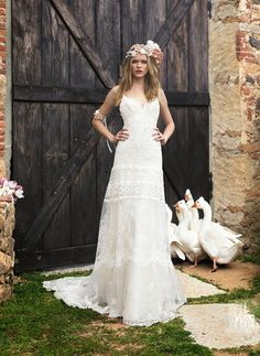 abiti da sposa 2015 YolanCris Boho Chic e matrimoni a tema